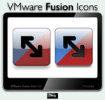 VM ware Fusion Icons