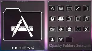 Opacity Folders Set