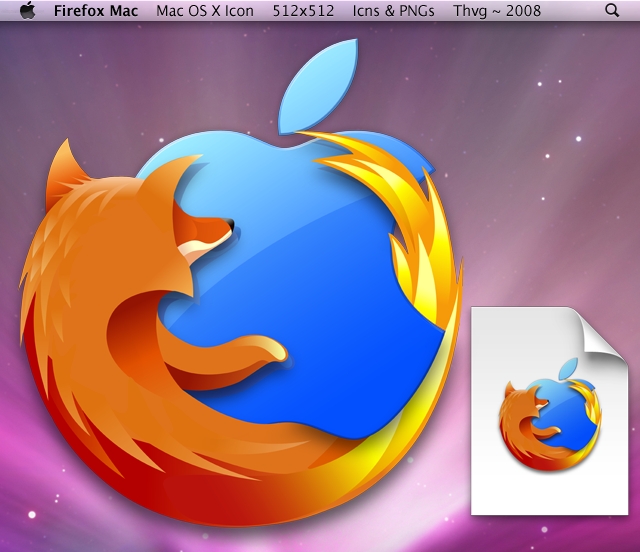 Firefox Mac - Updated by Thvg on DeviantArt