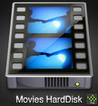 MoviesHarddisk icon