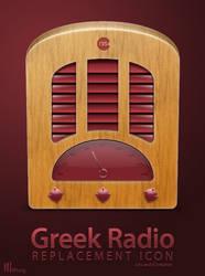 Greek Radio Icon Replacement