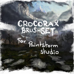 Crocorax brushset 2019 by Crocorax