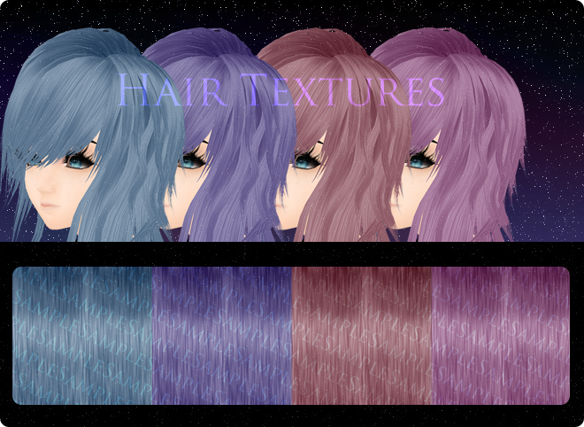 HD IMVU Hair Texture Pack by Minority83