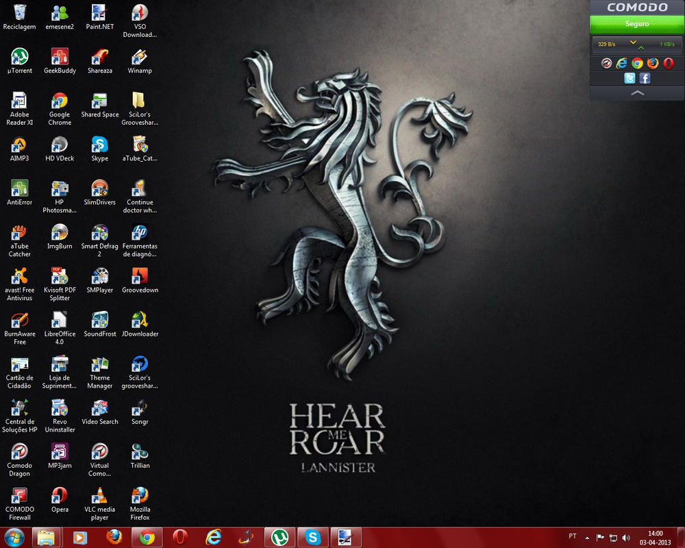 Google chrome themes game of thrones - Game Of Thrones By Spcm2011