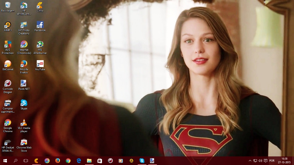 Supergirl by SPCM2011