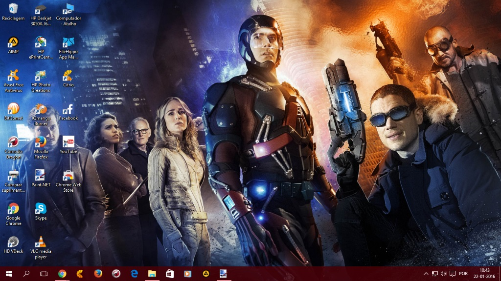 Dc S Legends Of Tomorrow by SPCM2011