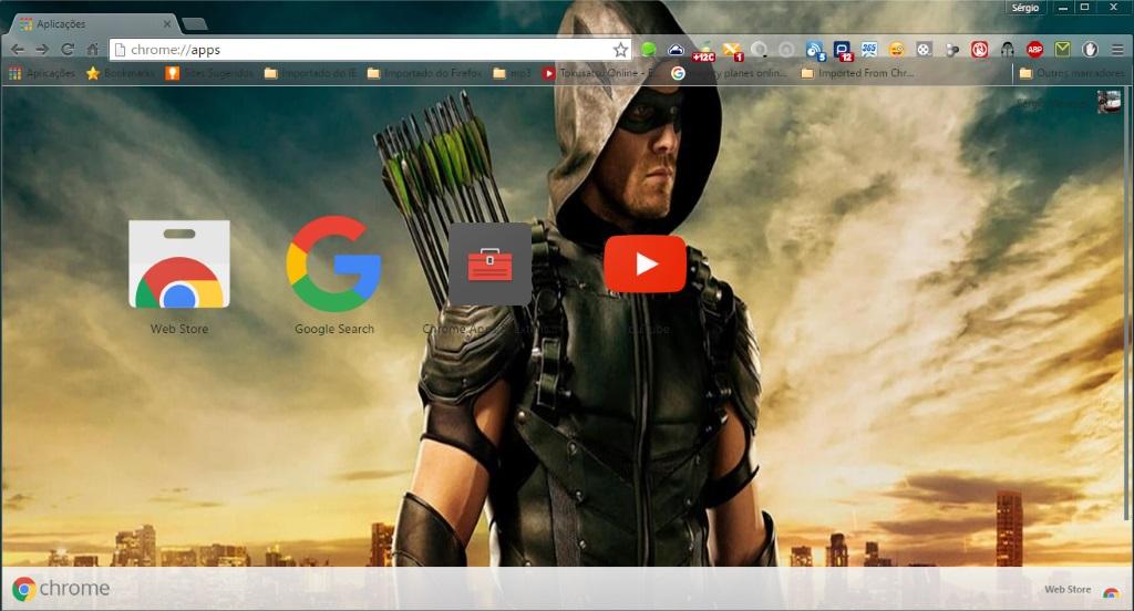 Green Arrow by SPCM2011