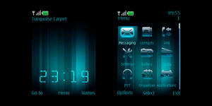 TurquoiseCarpet S40 for nokia