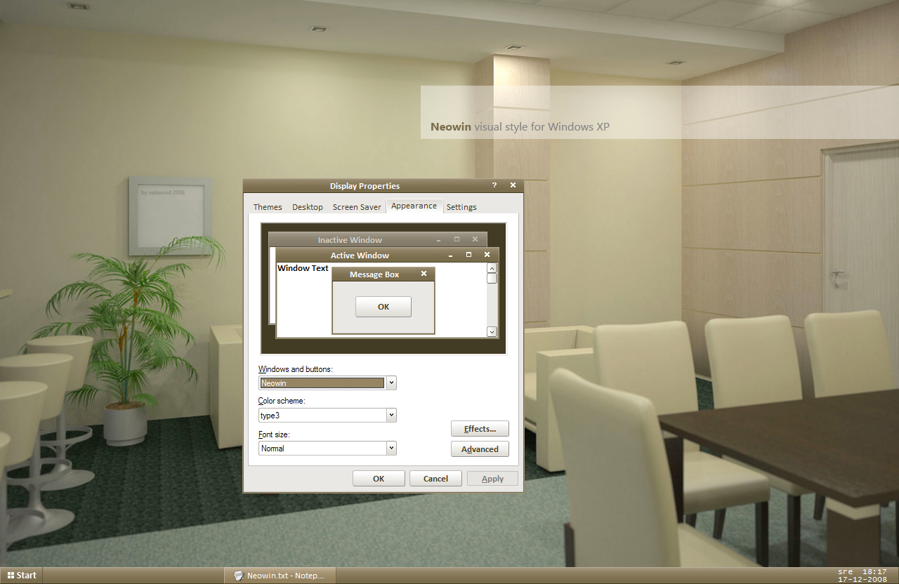 Neowin 2.2 VS for windows xp