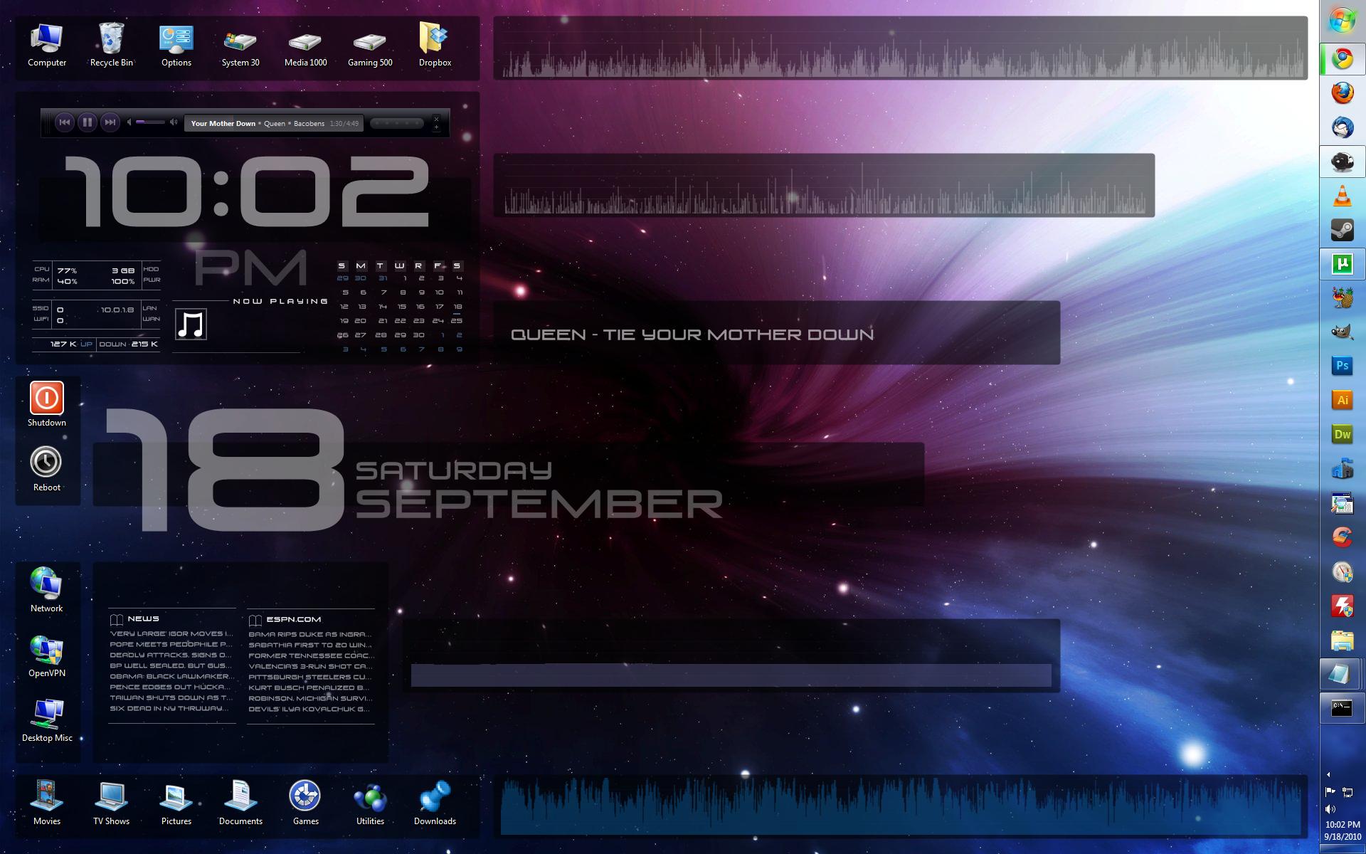 Vortex Interface 2.0 by gdroland