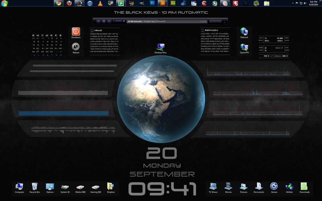 Rainmeter Desktop Interfaces - Need Some Feedback