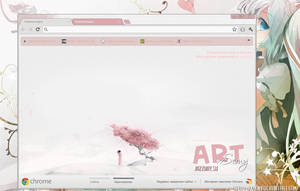 Sakure Theme Google Chrome by xSemy