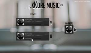 .xKore music [Mockup PSD]
