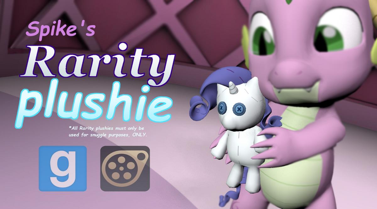 [DL]Rarity Plushie by Pika-Robo