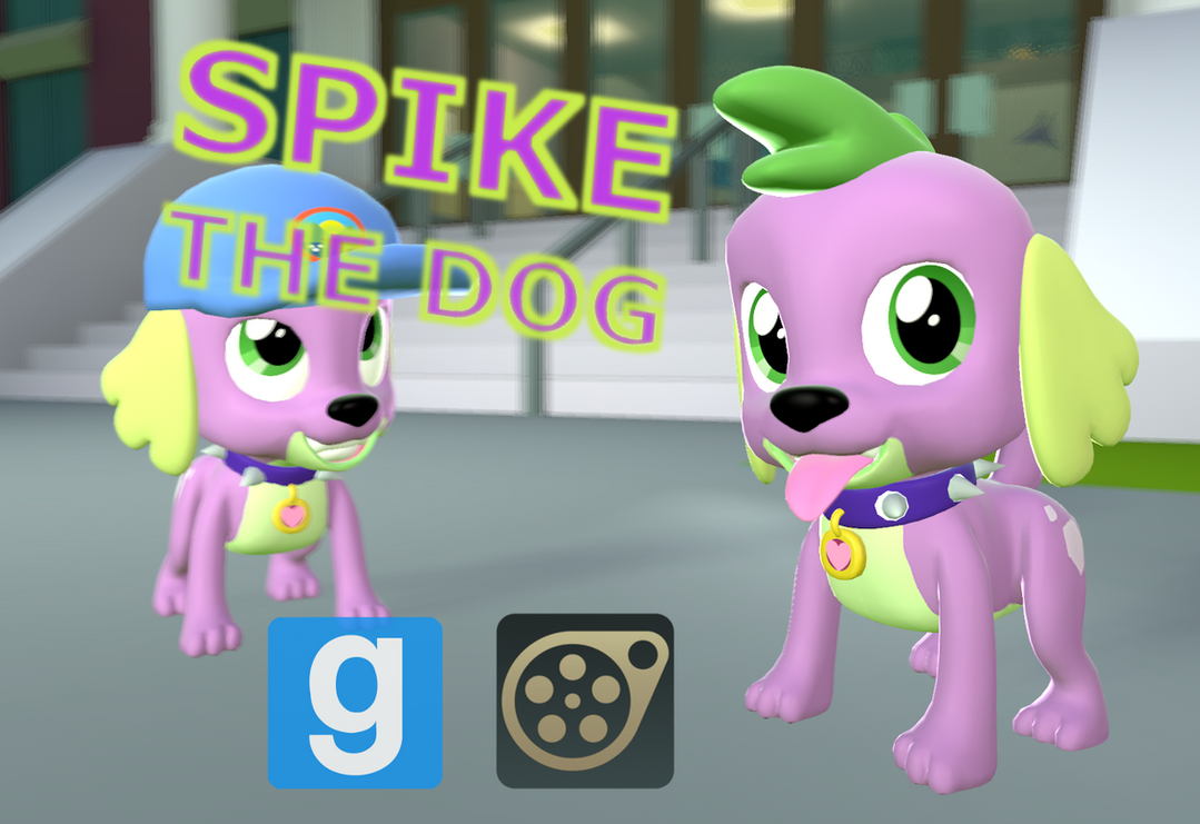 [DL] Spike the Dog by Pika-Robo