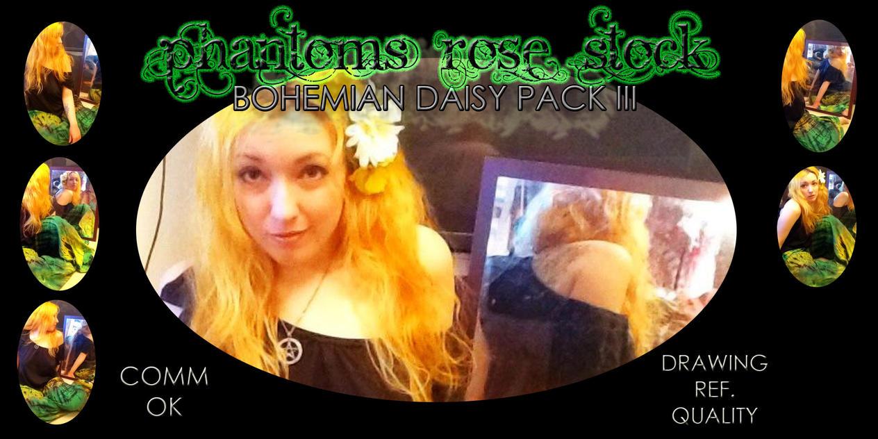 Bohemian Daisy Pack III by PhantomsRoseStock