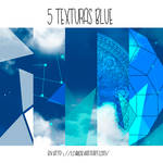 5 Textures BLUE