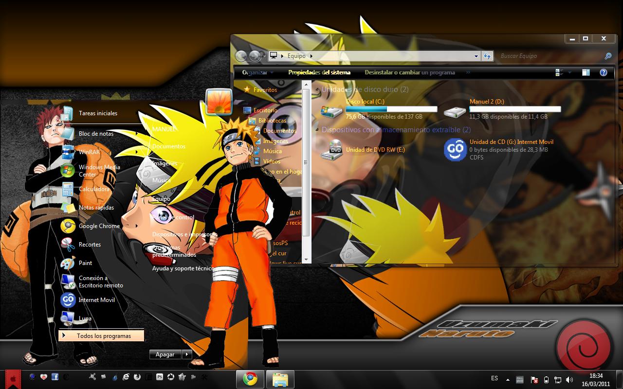 Naruto : scan et episode Naruto sur Gaara France