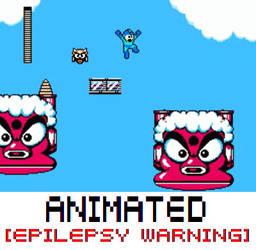 Megaman II [EPILEPSY WARNING] by MegaBunneh