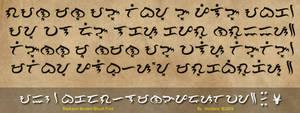 Baybayin Modern Brush Font
