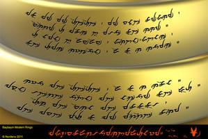 Baybayin Modern Ringo Font by Nordenx
