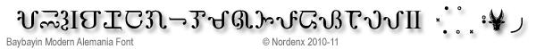 Baybayin Modern Alemania Font by Nordenx