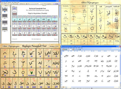 Baybayin Pamagkulit Font