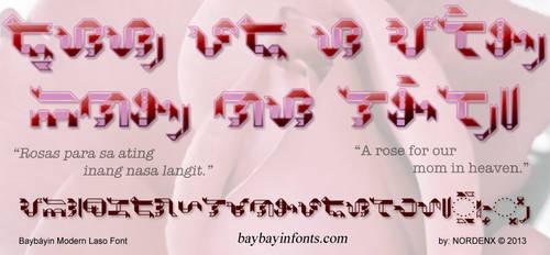 Baybayin Laso Font