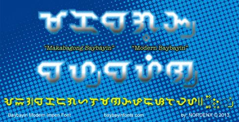Baybayin Impen Font