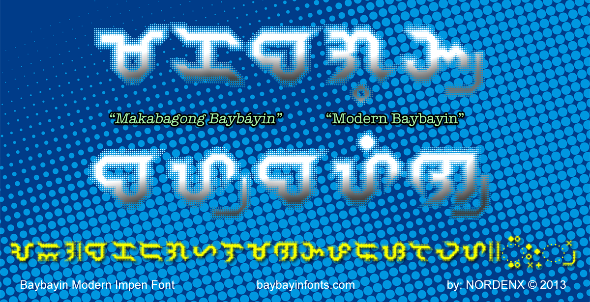 Baybayin Impen Font by Nordenx