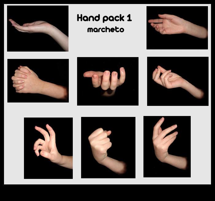 Hand pack 1 by marchetooo