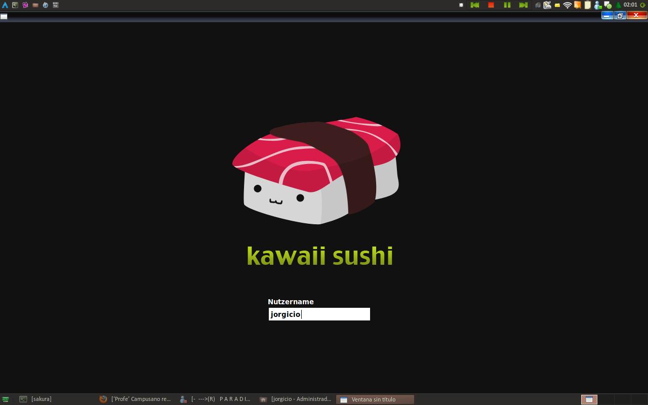 Sushi Kawaii - SLiM Theme