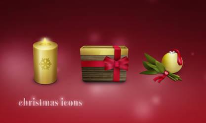 Christmas Icons 2007 by gakuseisean