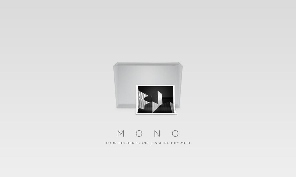 Mono Folders by gakuseisean
