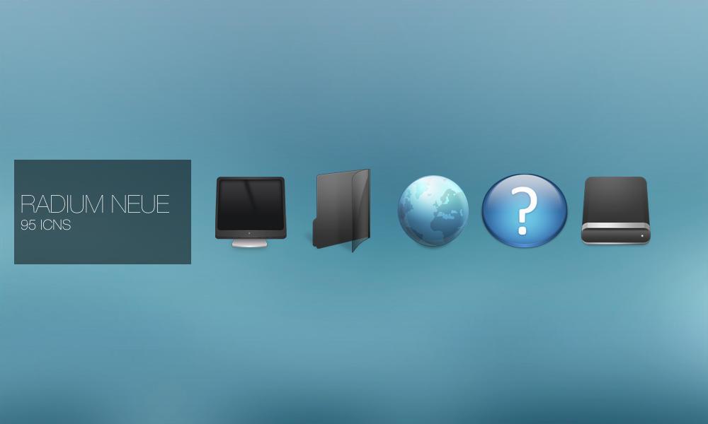 Radium Neue Mac Icons by gakuseisean