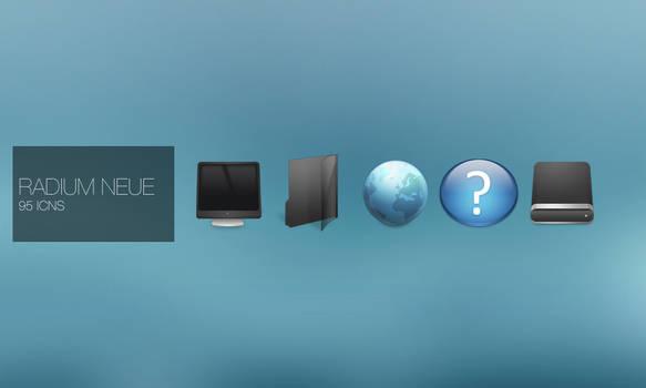 Radium Neue Mac Icons