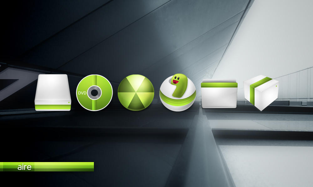 Aire Windows Icons by gakuseisean
