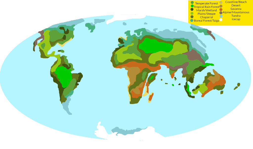 After Us Biome Map By Inkgink On Deviantart - Biome-map-of-us