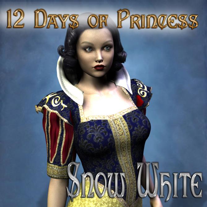 12 Days of Princess - Snow White