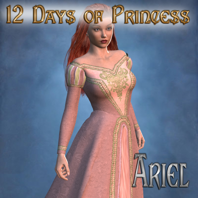 12 Days of Princess - Ariel