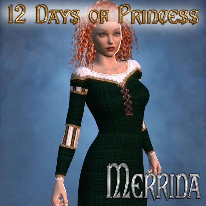 12 Days of Princess - Merrida