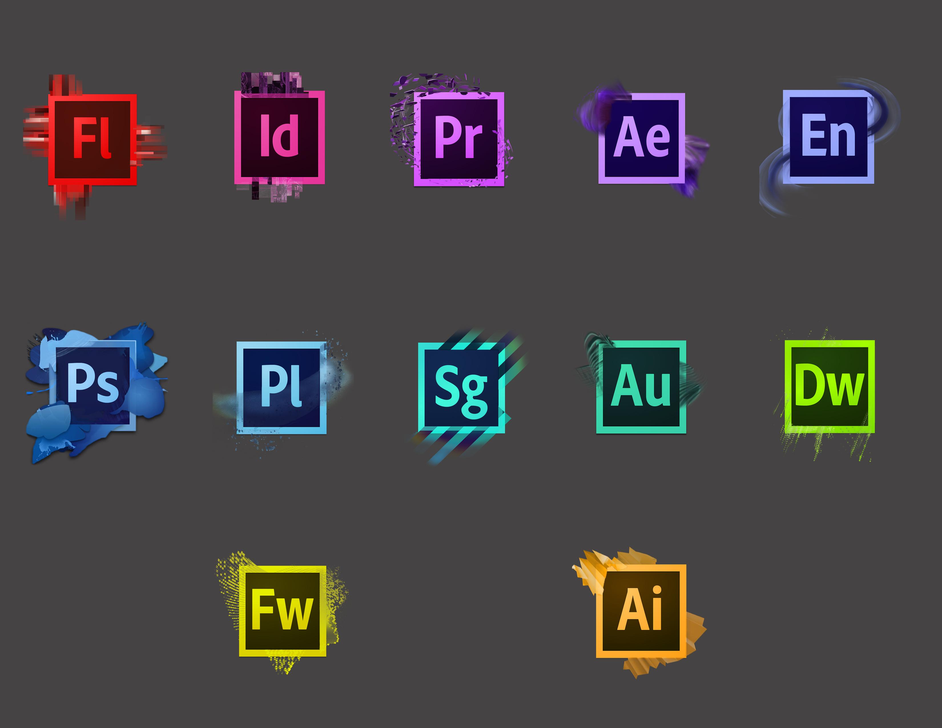 CS6 Icons Redesign