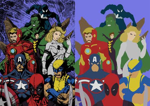 My Avengers by BIGGMIGGZ Flats