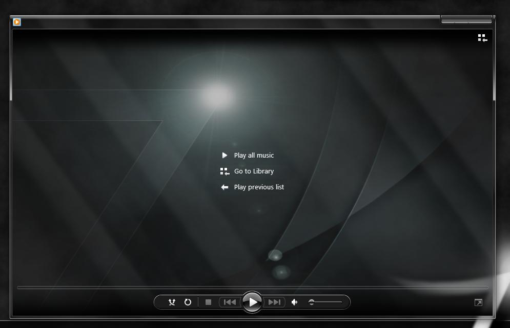 Windows Media Player Skin Alienware 16