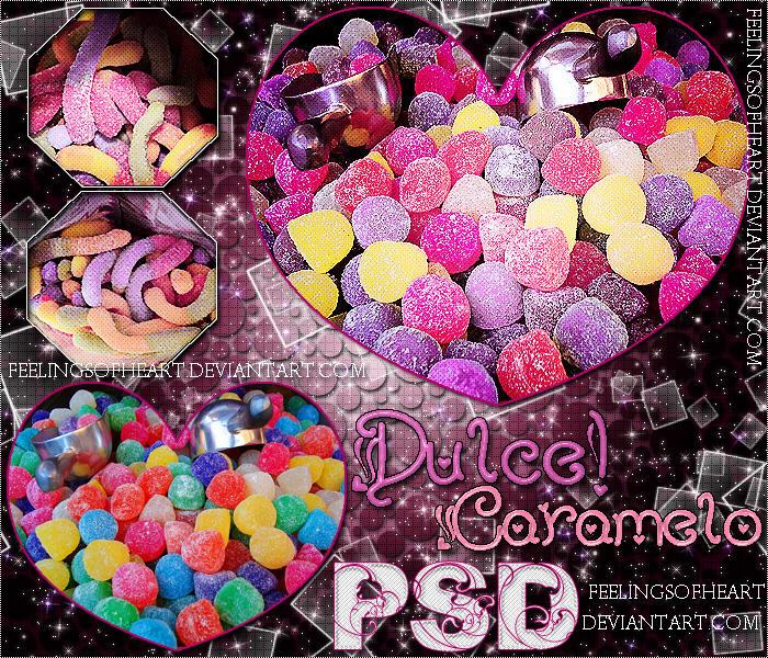DulceCarameloPSD by FeelingsOfHeart