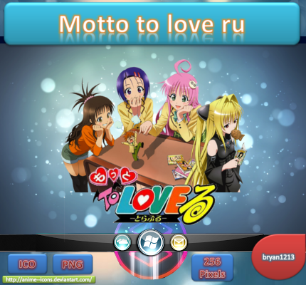 Motto to love icon ru by bryan1213 by bryan1213 on deviantart - Motto to love ru images ...
