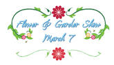 Flower and Garden Show Logo by freelance001artist
