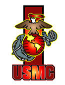 USMC Logo in Vector by freelance001artist