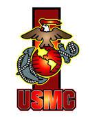 USMC Logo in Vector by freelance001artist