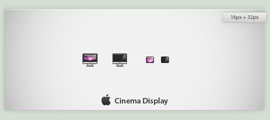 Cinema Display by worC
